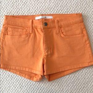 Joes Jean Shorts Orange